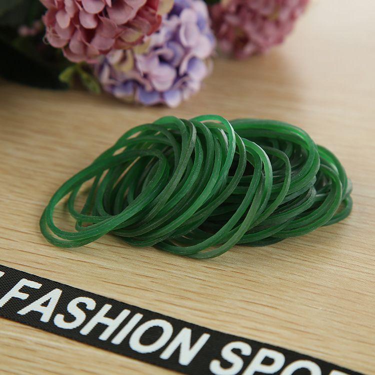越南越意VYR38x1.3绿色办公用品橡皮筋文具橡皮圈 牛皮筋环保
