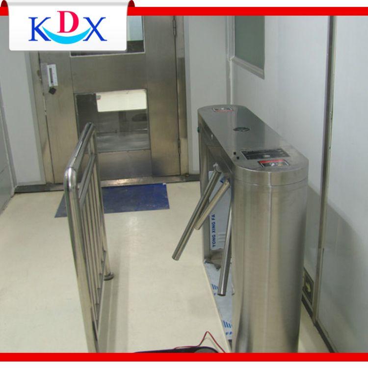 KDX 三辊闸防静电门禁系统 双脚ESD门禁