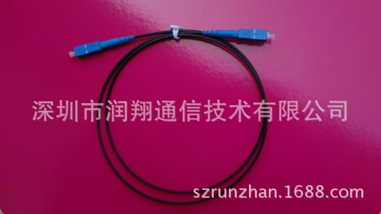 订制长度 SC APC 光纤光缆跳线