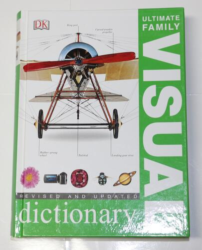 DK英文词典Ultimate Visual Dictionary百科字典视觉词典外文书