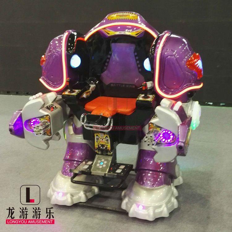 厂家现货供应新款广场游乐战火金刚 行走机器人电动游乐设备批发