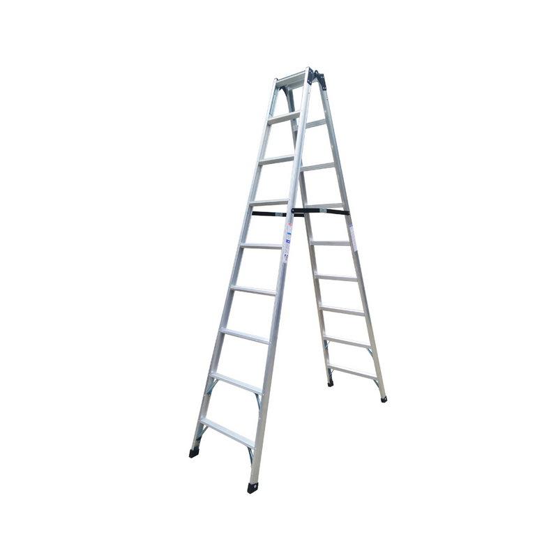 耐登铝合金梯子七阶直马梯两用梯子伸长4.2米NTCL-7