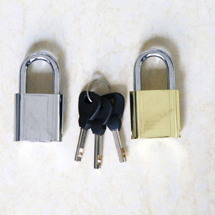 新款长梁锁 40型圆角防伪挂锁卡封合金锁 创意防盗挂锁定制批发