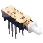 KANZ2-2 A03直键按键琴键电源自锁开关 自无锁六脚双排卧式开关