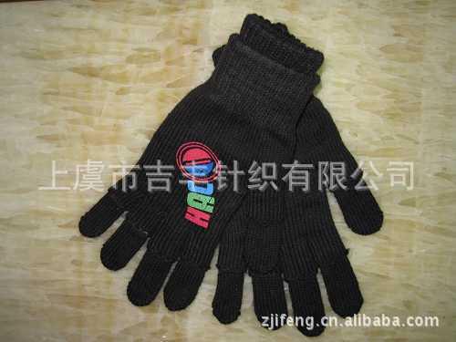 10年工厂供应印胶魔术手套 冬季保暖儿童手套