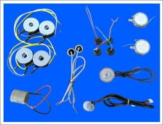 厂家定制加工压电陶瓷元件 电子元件 传感器蜂鸣器滤波器配件