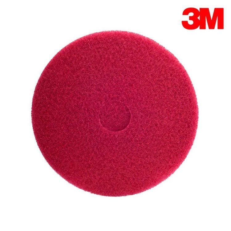 [现货]3M5100百洁垫红色清洁垫17寸 大理石磨片 5片/盒