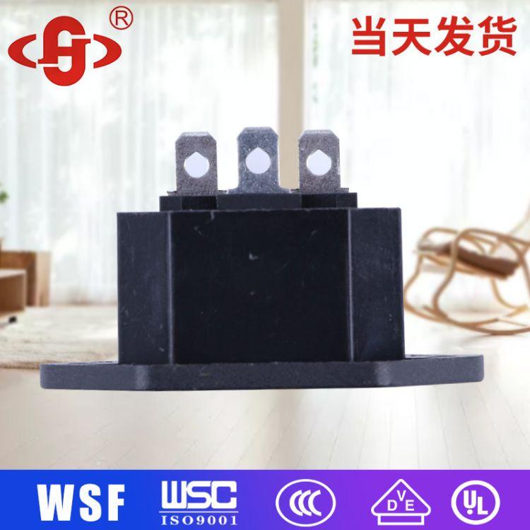 品字插座2DB-14-M-2 电炖锅暖手宝电源插座 品字电源插座15a