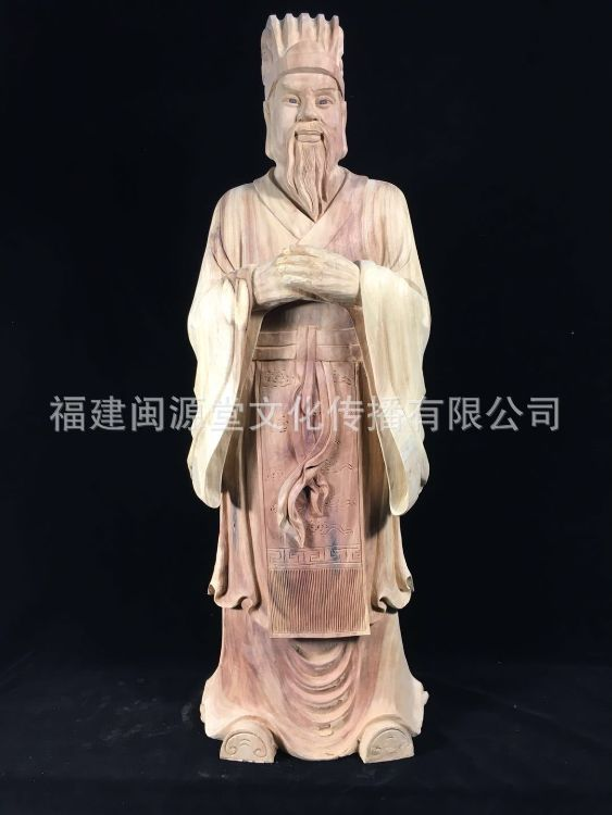 工厂直销各姓氏始祖先祖祖宗名人神像木雕艺术像