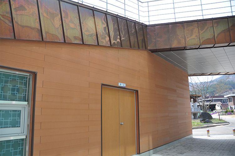 安徽红树林木塑厂家 轻钢别墅外墙板 河南郑州木塑墙板 新型节能别墅外墙装饰面板