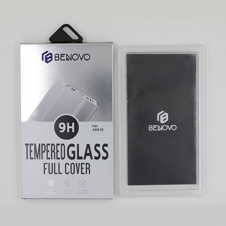 BENOVO防爆玻璃钢化膜三星A6曲面高清全屏/皮套版A6plus玻璃贴膜
