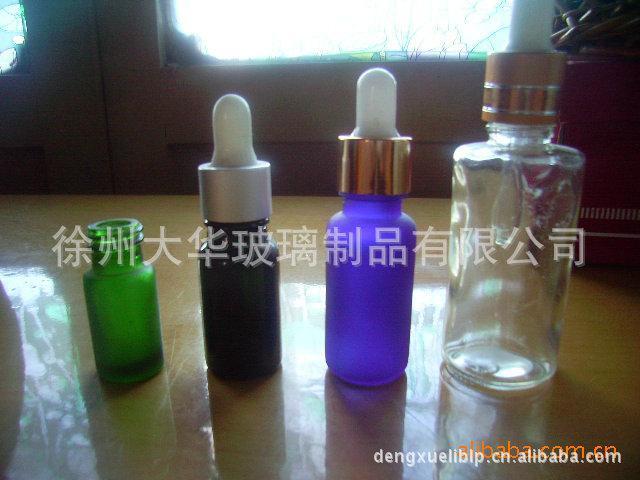 大华 厂家供应多种规格经久耐用滴管精油瓶