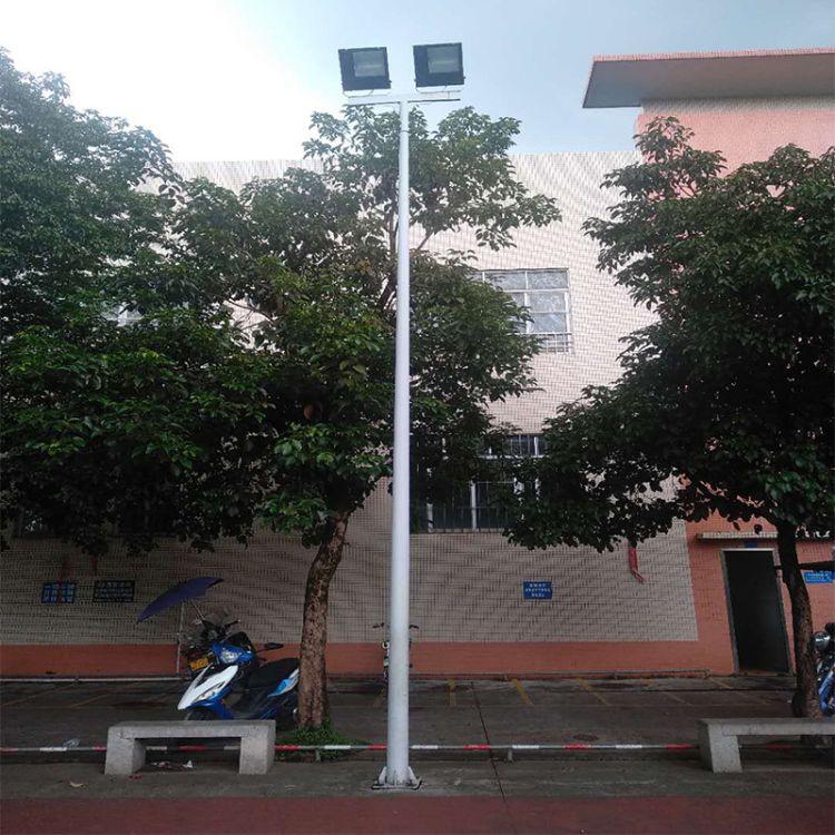 中山路灯厂家生产批发7米8米篮球场灯广场灯中杆灯高杆灯排球场足球场灯广场灯公园灯