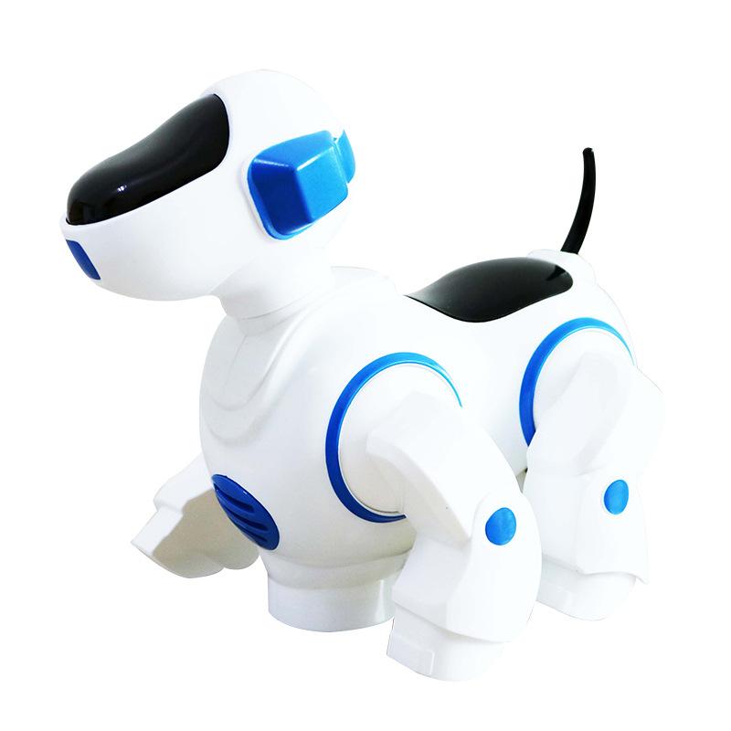 机器狗 批发电动万向音乐跳舞炫舞机器狗行走小狗 儿童益智玩具
