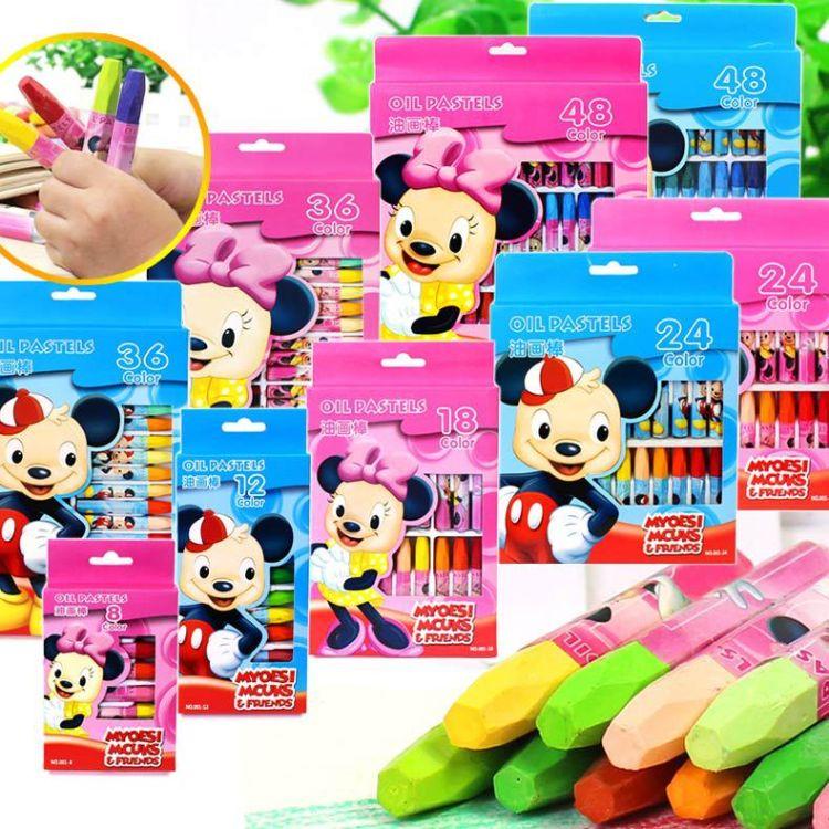 工厂直销 学生蜡笔套装36色环保无毒 特价儿童填色涂鸦油画棒