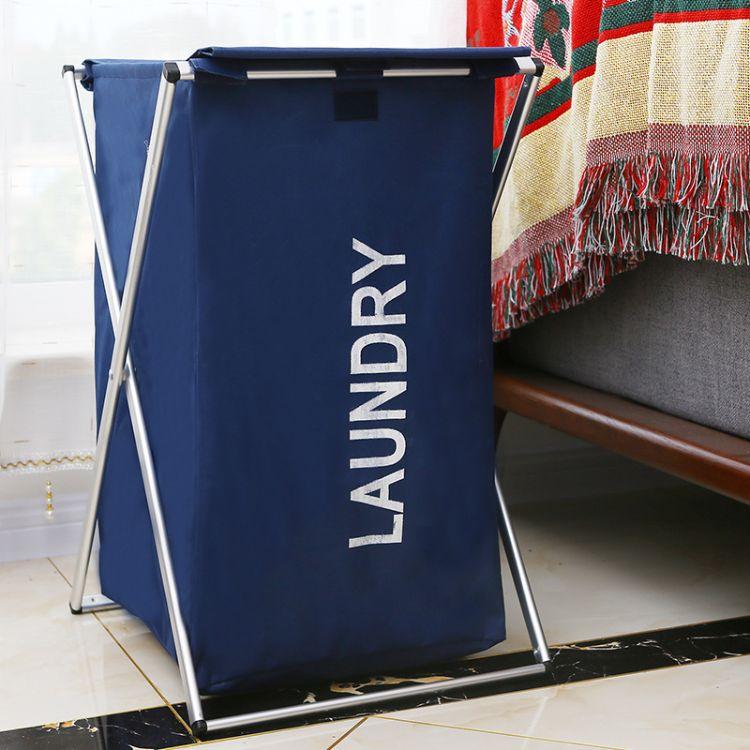 厂家直销牛津布折叠防水防潮脏衣筐卧室衣服整理箱玩具创意收纳筐