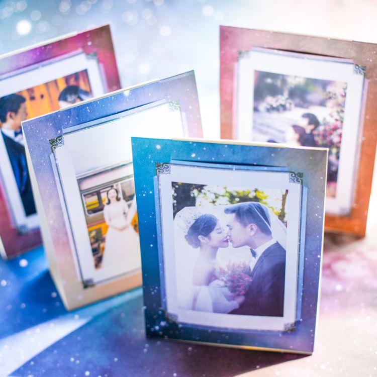 欧式婚礼星空席位卡 创意结婚桌卡座位卡定制 个性婚庆桌牌台卡
