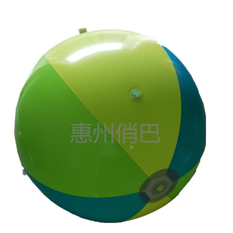 75公分夏季儿童户外戏水球喷水沙滩球草坪玩耍玩具球充气大喷水球
