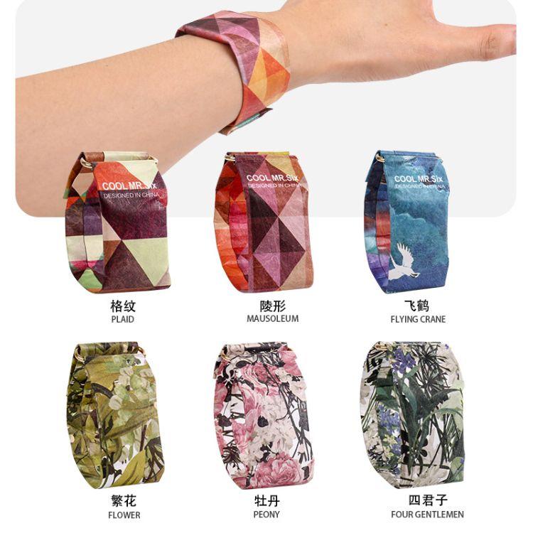 抖音爆款新型LED手表纸质创意时尚防水智能耐撕纸手表实用性手表