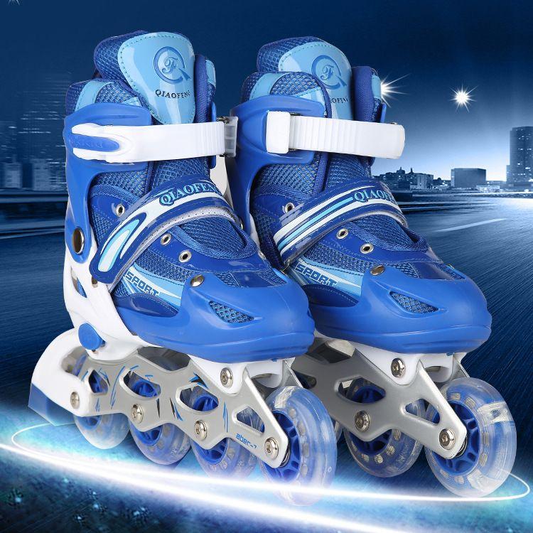 厂家批发溜冰鞋儿童正品轮滑超顺旱冰鞋批发量大更优惠实力保证