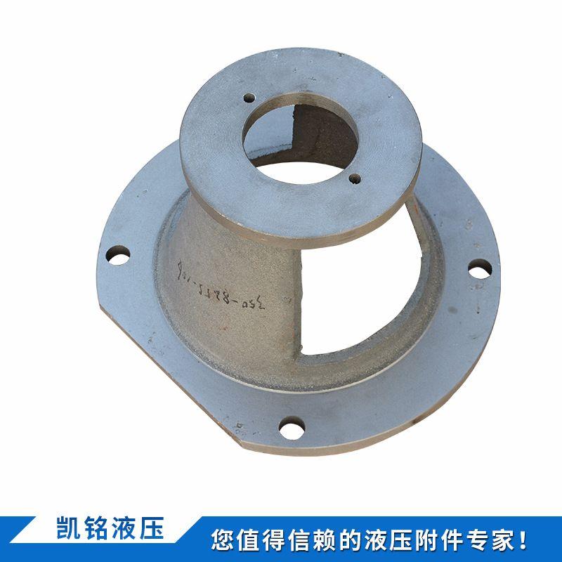 铸铁类油泵支架 钟形罩厂家批发 各种型号液压泵钟套