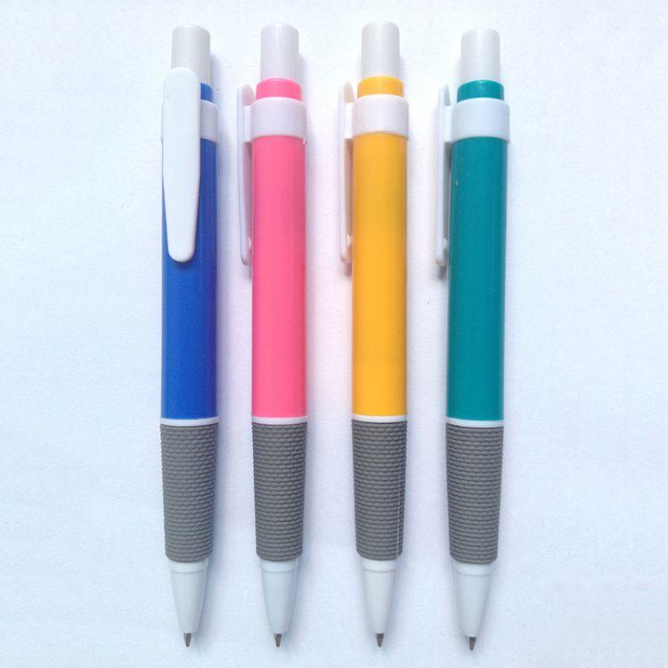 批发文具便宜塑料圆珠笔 520圆珠笔 医药公司经销商赠品广告笔