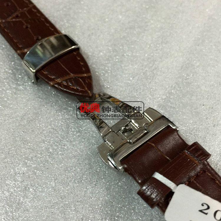 现货批发 高档不锈钢皮表带扣 双按蝴蝶扣 商档皮带专用扣