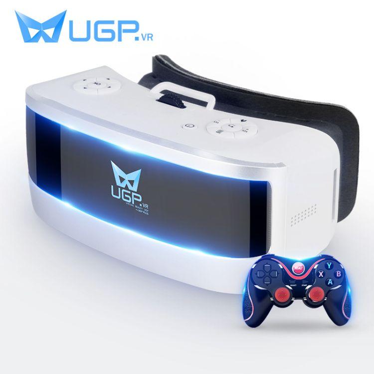 UGP正品VR一体机头戴式虚拟现实电影游戏设备3D智能眼镜头盔定制