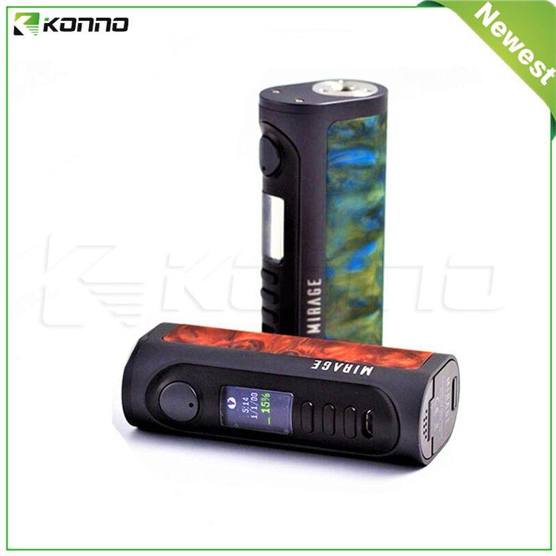 正品Lost Vape Mirage DNA75C 100W Box Mod电子烟调压盒 树脂