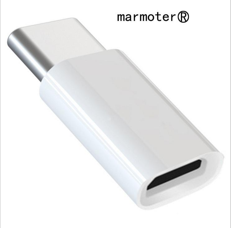 乐视转接头 micro转type-c 安卓V8转换I4 5S 6P 7手机USB华为小米