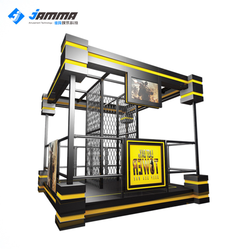 佳玛新品末日危机优质VR塔楼虚拟现实体验馆设备VR塔楼厂家直销