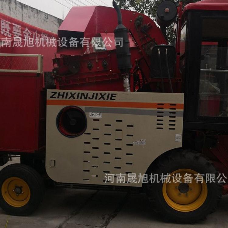 晟旭热销玉米收割机 大型联合收割机 背负式玉米收获机操作简单