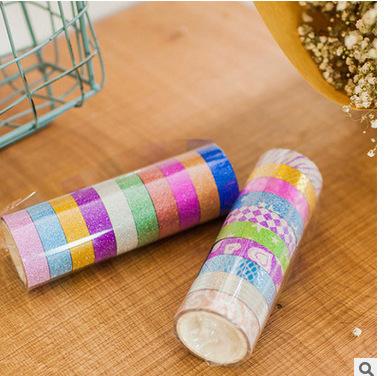 厂家直销韩国DIY相册金粉胶带 创意闪光 颜色可选 单色3M