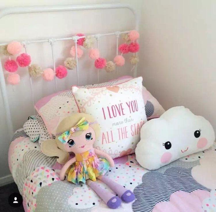 ins爆款 云朵笑脸表情抱枕 靠垫 儿童房装饰 造型靠枕 枕头云朵灯