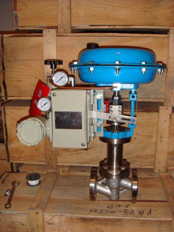 上海帕基诺泵阀制造有限公司气动波纹管调节阀PJZJPF型气体/液体气动调节阀