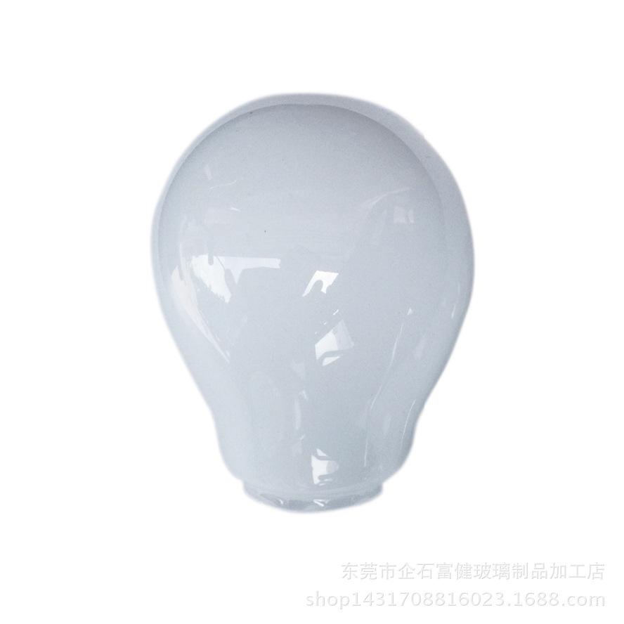 供应A60*28*75高品质 高透光率精品LED玻璃灯罩 节能灯罩 可定