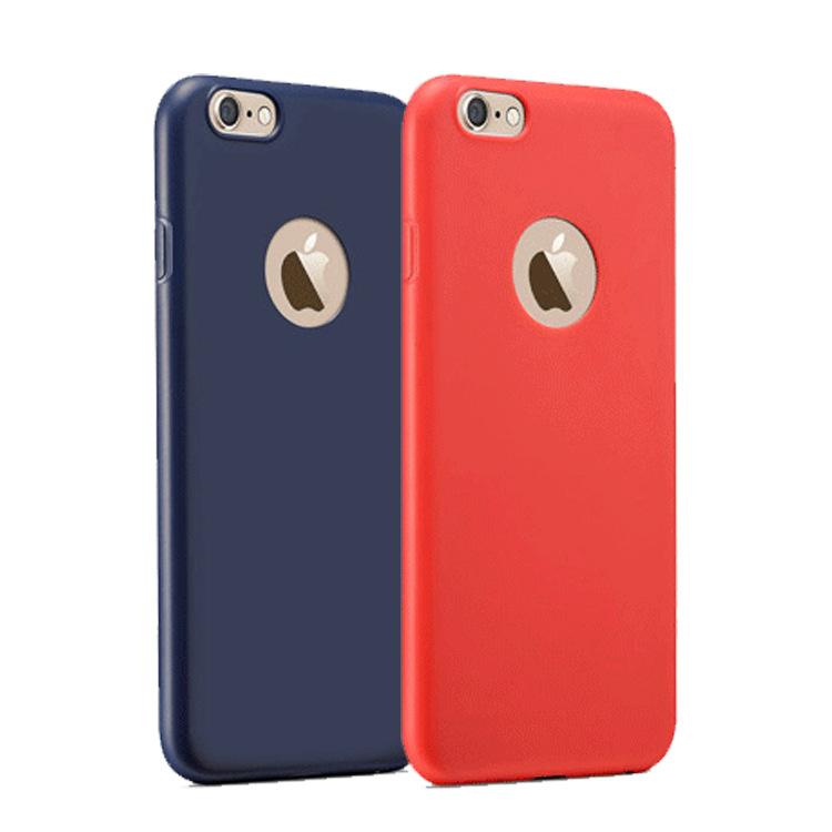iphone8手机壳 苹果7 plus 超薄磨砂防尘 TPU软壳 手机保护套