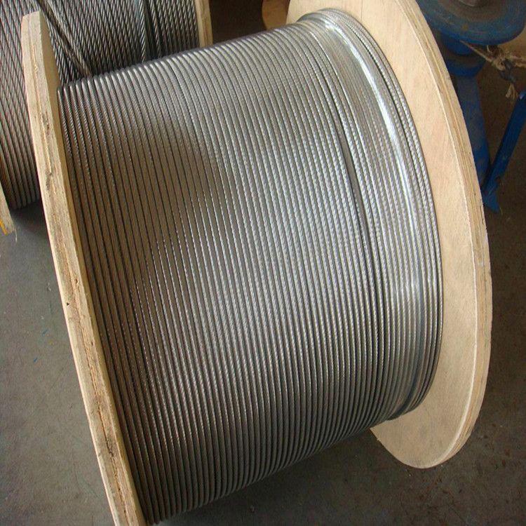 批发光面钢丝绳 塔吊 吊机 起重 建筑施工用材专用