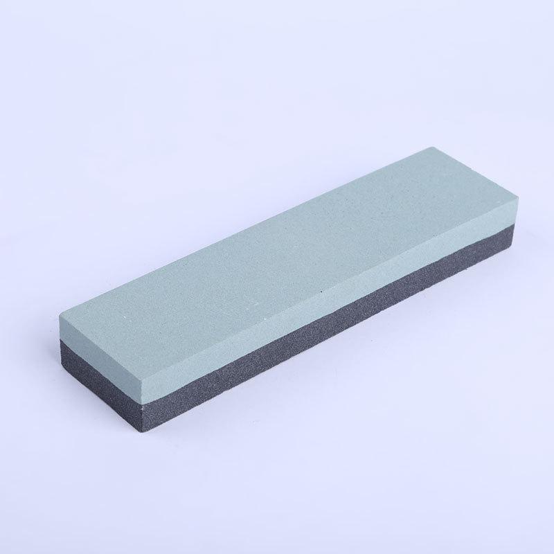厂家批发黑碳化硅绿碳化硅黑绿油石磨刀石双面家用可定制加工磨石