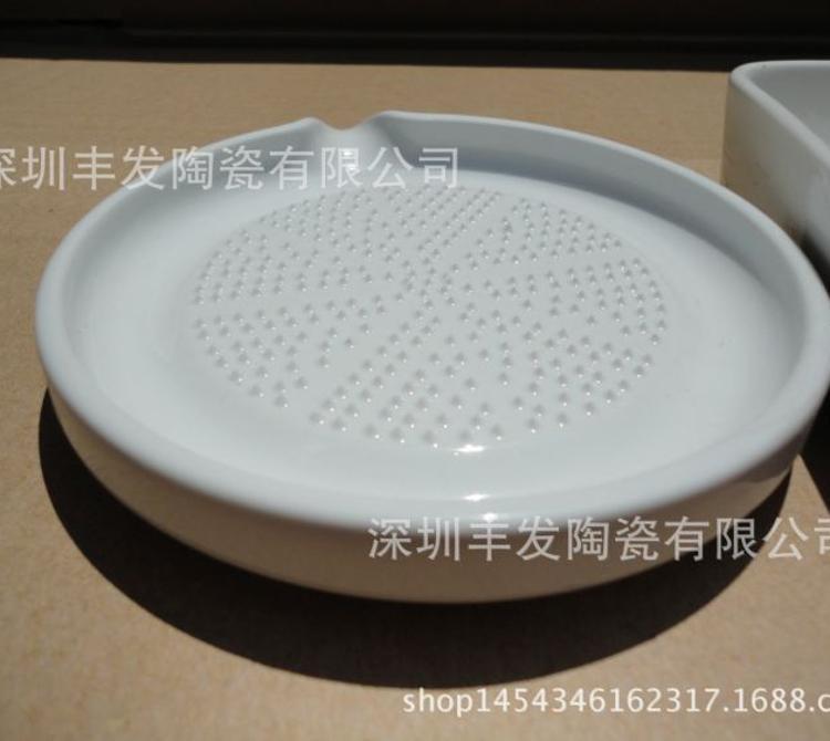 研磨器宝宝食物研磨器 婴儿食物调理陶瓷研磨器姜磨盘