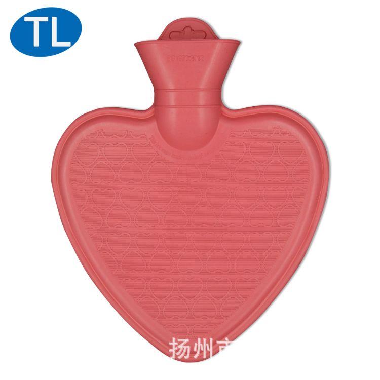 出口品质,情人节礼品 赠品 心形橡胶热水袋 厂家直销