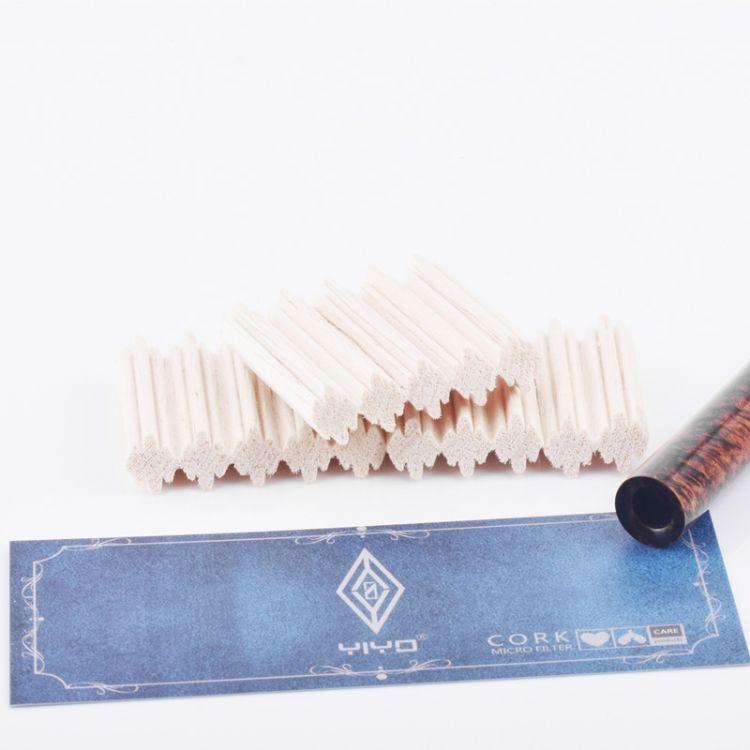 YIYO进口9mm烟斗过滤芯通用型实木烟嘴滤芯专用耗材配件