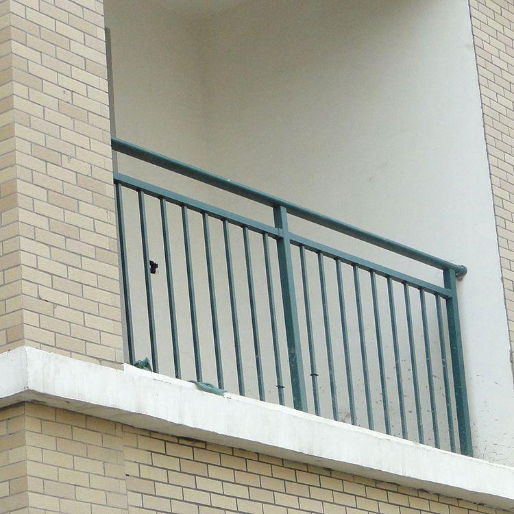 锌钢阳台防护围栏 锌钢阳台栏杆 小阳台围栏 新型阳台护栏
