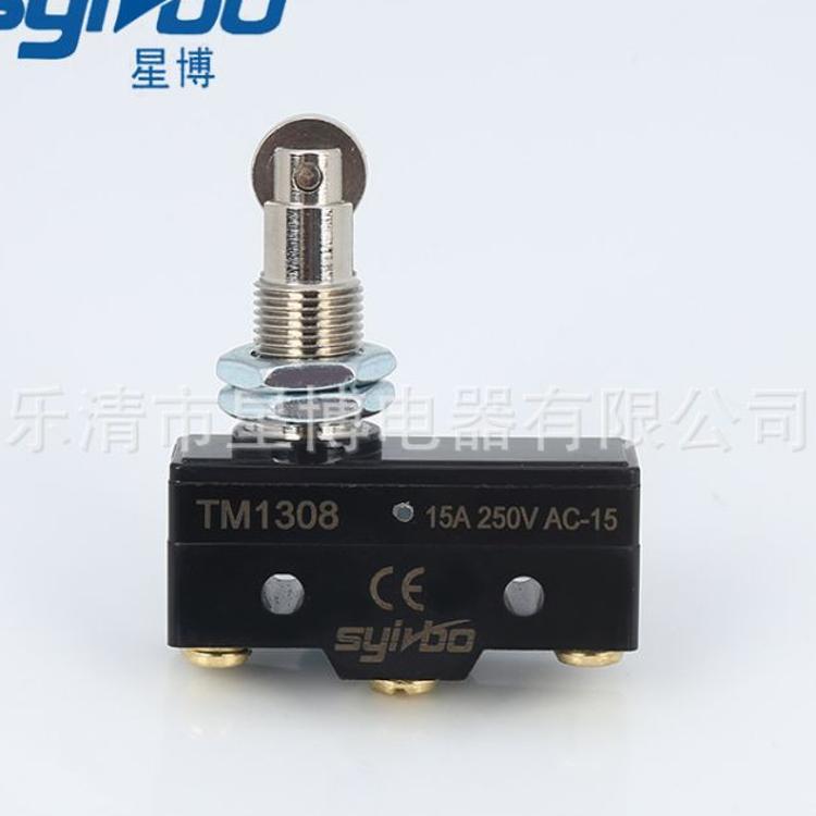 厂家直供 微动开关TM1308银点行程开关 自复位一开一闭 规格齐全