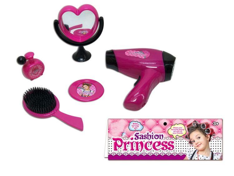 厂家直销儿童饰品梳妆玩具电动吹风筒套装 女孩玩具过家家