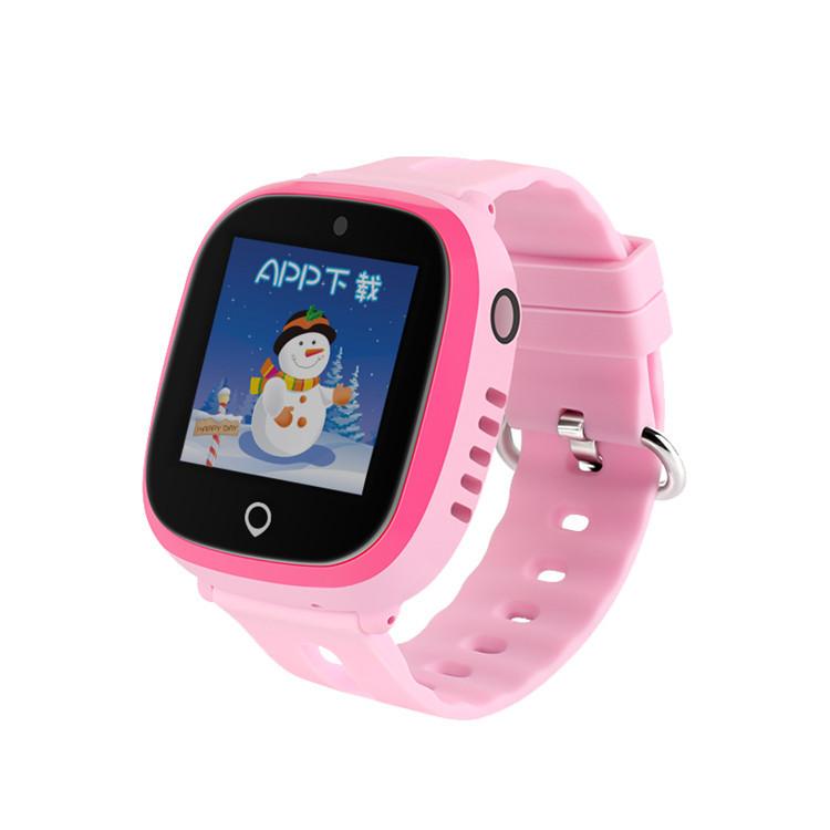 电信版儿童手表电话防水定位微聊计步拍照小学生智能手表一件代发