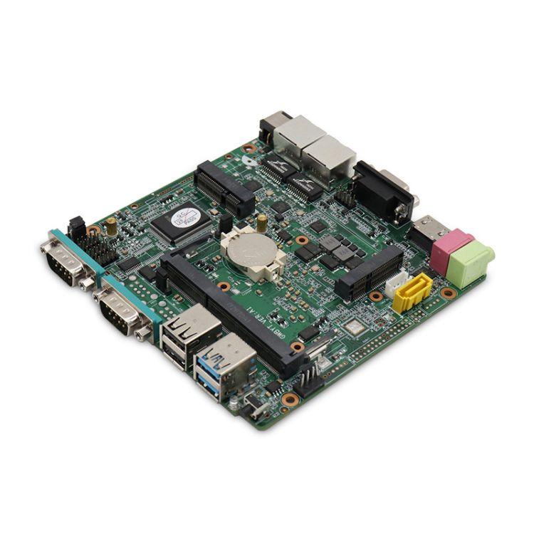标点工控机新双高清主板J1900/J1800/n2840多功能工业控制主机