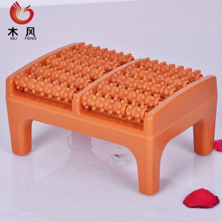 木风五排珠足底按摩脚踏 PP新塑料脚底穴位踏板泡脚按摩凳熏蒸踏