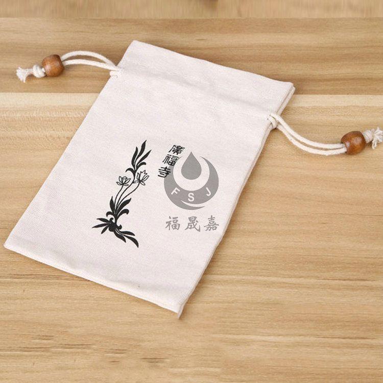 抽口帆布袋 抽绳抽口帆布袋可印logo 长期生产时尚环保帆布袋批发