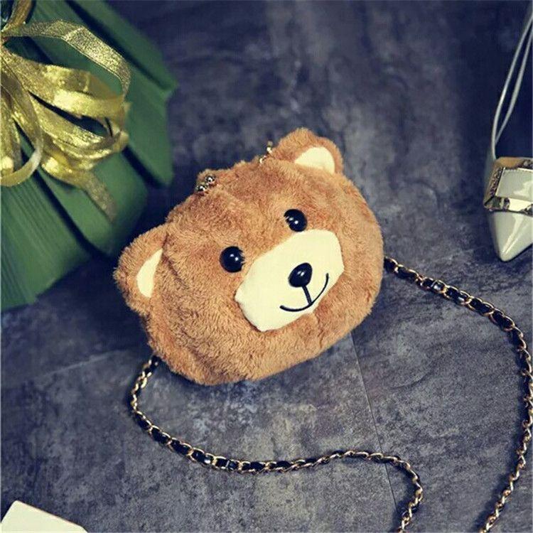 维尼小熊大容量化妆包 韩国可爱手拿包女小包包零钱包